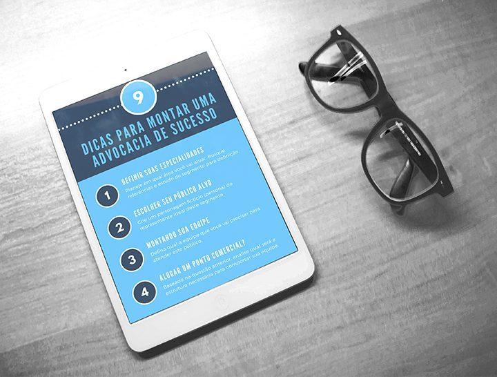 [Infográfico] Dicas para montar uma advocacia de sucesso