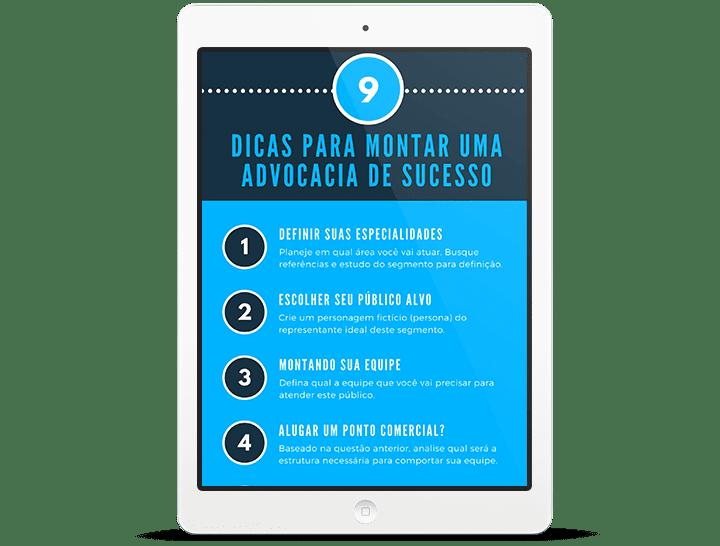 [Infográfico] Dicas para montar uma advocacia de sucesso 1